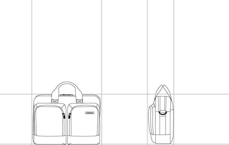 Size dimension | Samsonite Qatar