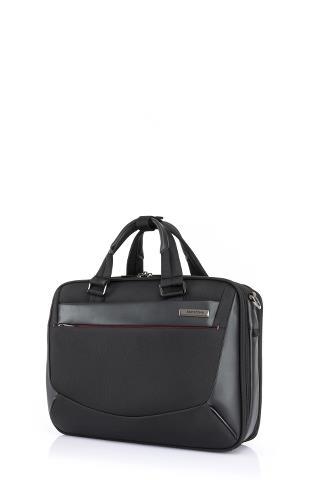 A703_VIGON II_Briefcase M_BLACK_FRONT34