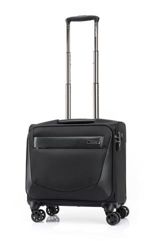 A703_VIGON II_SP Rolling Tote (L40)_BLACK_FRONT34